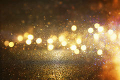 Glitter vintage lights background. de-focused. Glitter vintage lights background. de-focused Royalty Free Stock Photography