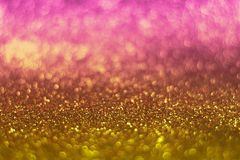 Glitter vintage lights background. defocused. Colorful glittery surface Stock Photos