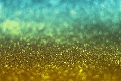 Glitter vintage lights background. defocused. Colorful glittery surface Stock Photography