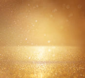 Glitter vintage lights background. defocused Royalty Free Stock Photo