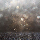 Glitter vintage lights background Royalty Free Stock Photo