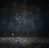 Glitter vintage lights background Stock Photography