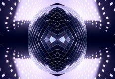 glitterball πρότυπο Στοκ Εικόνα