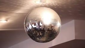 Glitterball almacen de metraje de vídeo
