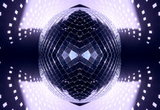 Glitterball pattern Stock Image