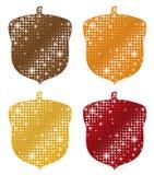 Glittering Acorns Stock Photos
