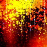 Glittering background with stars Royalty Free Stock Photography