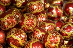 Glittering balls Royalty Free Stock Image