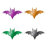 Glittering Bats Royalty Free Stock Photo