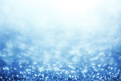 Glittering blue background Stock Photo