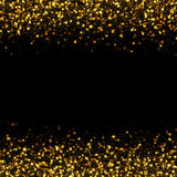 Glittering bokeh abstract. Gold glittering bokeh abstract background Royalty Free Stock Image