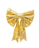 Glittering bow Royalty Free Stock Images