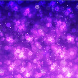 Glittering Christmas and New Year bokeh. Background Stock Image