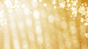 Glittering curtain with stars stock video footage