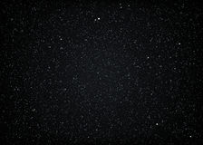 Glittering dark starry cosmic space Royalty Free Stock Photography