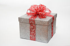 Glittering gift Stock Photo