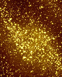 Glittering gold background. With some smooth lights and sparkles Stock Illustration