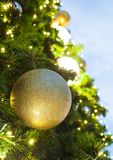 Glittering gold of Christmas