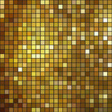 Glittering Gold mosaic background pattern Royalty Free Stock Photography