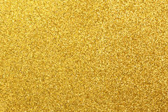Glittering golden Stock Images
