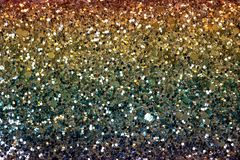 Glittering Golden Surface with Seamless Texture royalty free stock images