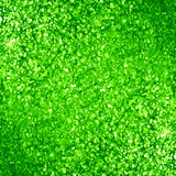 Glittering green background. With some smooth lights and sparkles Royalty Free Stock Photos
