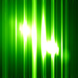 Glittering green background. With some smooth lights and sparkles Stock Illustration