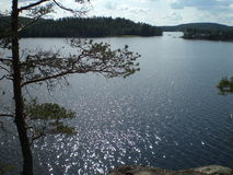 Glittering Lake Stock Photos