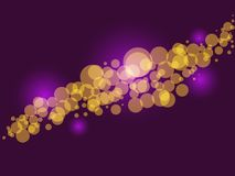 Glittering lights Royalty Free Stock Photos
