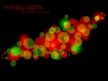Glittering lights Stock Photography