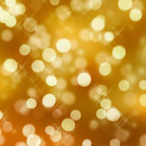 Glittering lights Stock Image