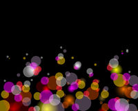 Glittering lights background. Abstract background preparation for the designer Stock Photos