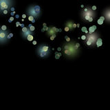 Glittering lights background. 2d vector Royalty Free Stock Images