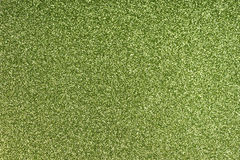 Glittering paper sheet texture background. Sparkling green pattern Royalty Free Stock Photography