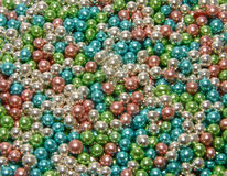 Glittering pearls Stock Photo