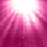 Glittering pink background. With some smooth lights and sparkles stock photography