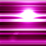 Glittering pink background. With some smooth lights and sparkles Stock Illustration