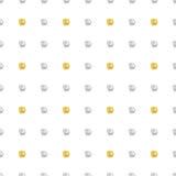 Glittering polka dot seamless pattern. Stock Photos