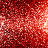 Glittering red background. With some smooth lights and sparkles Vector Illustration