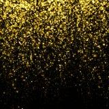 Glittering star dust fall bokeh Royalty Free Stock Photo