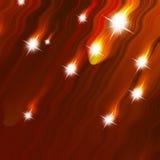Glittering stars Royalty Free Stock Photo