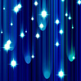 Glittering stars Stock Photo
