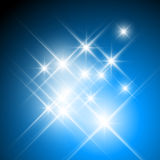 Glittering stars Royalty Free Stock Image