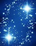 Glittering stars Stock Photos