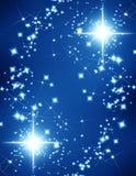 Glittering stars Stock Photos