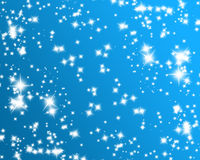 Glittering stars Stock Image