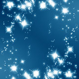 Glittering stars Royalty Free Stock Photos