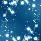 Glittering stars Royalty Free Stock Photos
