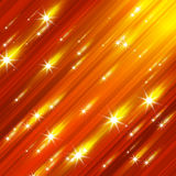 Glittering stars blurred Royalty Free Stock Photo