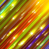 Glittering stars blurred Stock Photography